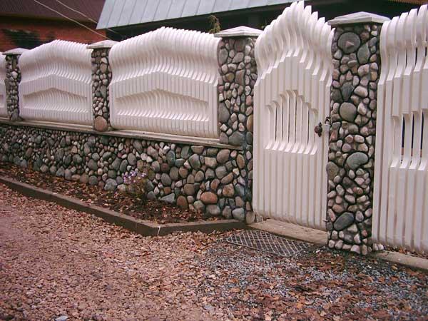Сделать,построить красивый забор, ограждение на даче, с ...: http://www.bestgardener.ru/construct/construct.20.shtml